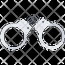 Handcuffs Law Police Icon