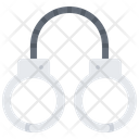 Handcuffs Policeman Criminal Icon