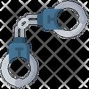 Handcuffs Equipment Police Icon