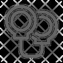 Handcuffs Prisoner Fugitive Icon