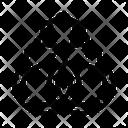 Handcuffs Law Judgement Icon