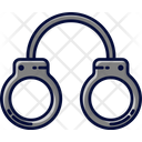 Handcuffs Shackles Police Icon