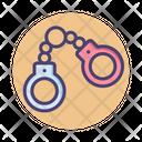 Handcuffs Criminal Crime Icon
