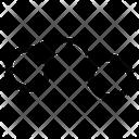 Handcuffs Prisoner Chain Icon