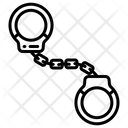 Handcuffs Bail Penalty Icon