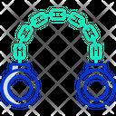 Handcuffs Crime Criminal Icon