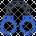 Criminal Handcuffs Police Icon