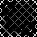 Handcuffs Manacles Shackles Icon