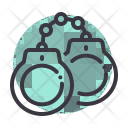 Handcuffs Jail Arrest Icon