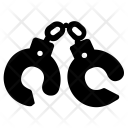 Handcuffs Prison Icon