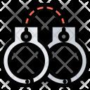 Handcuffs Law Crime Icon