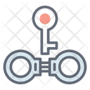 Manacles Handcuffs Restraint Icon