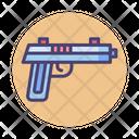 Handgun Pistol Shoot Icon