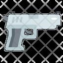 Handgun Military Shoot Icon