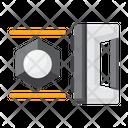 Handheld 3 D Scanner Icon