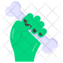 Halloween Hand Zombie Hand Ghost Hand Icon