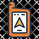 Handheld Gps Location Icon