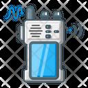 Handheld Naval Handheld Radio Portable Radio Icon