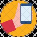 Handheld Phone Icon