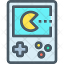 Pacman Game Handhold Icon