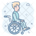Wheelchair Handicap Physical Disability Icon