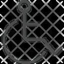 Handicap Symbol Icon