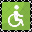 Handicap Disability Paraplegic Icon