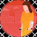 Handicap Walker Icon