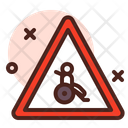 Handicapped Alert Sign Icon