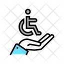 Hand Hold Disabled Icon