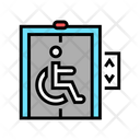 Elevator Disabled Color Icon