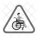 Handicapped Zone Sign Icon