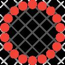 Handlace Necklace Accessory Icon