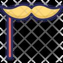 Handlebar moustache Icon