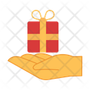 Give Gift Box Icon