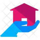 Real Estate Hand Icon
