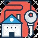 Home Key Down Icon