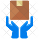 Hand Delivery Parcel Icon