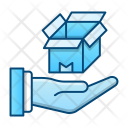 Transport Shipping Box Icon
