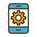 Handphone Setting Mobile Engineering Online Engineering Icon