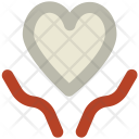 Hands Heart Charity Icon