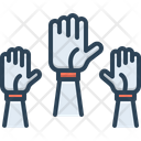 Hands Palm Wrist Icon