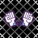 Handcuffs Arrest Chain Icon