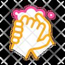 Soap Design Hand Icon