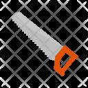 Handsaw Cut Trim Icon