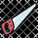 Carpenter Saw Tool Icon