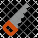 Hand Saw Cut Icon