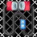 Handsfree Mono Earphone Handsfree Kit Icon