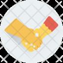 Handshake Lovers Couple Icon