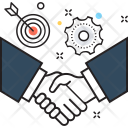 Handshake Business Partner Icon